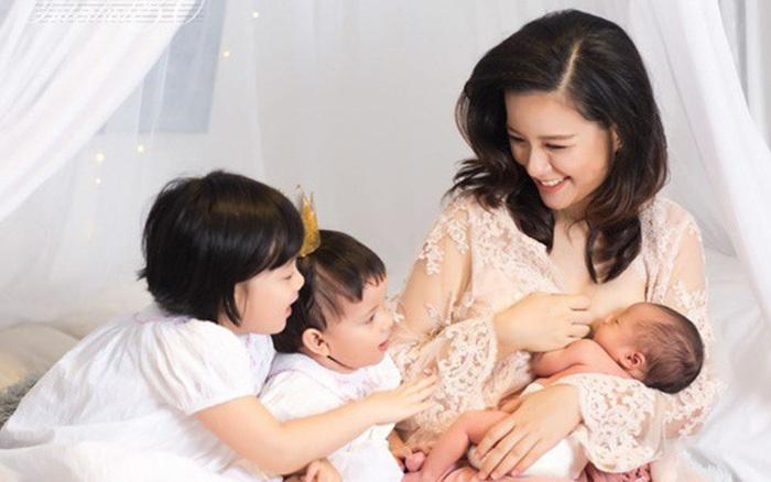 Phản ứng của Sao Việt khi biết MC nổi tiếng VTV sinh con thứ 4