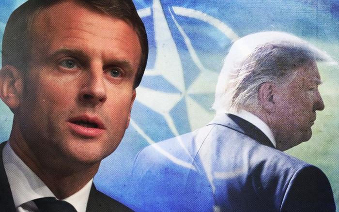 """Mô tả NATO """"chết não"""" vì Mỹ, Tổng thống Pháp được Nga tán dương vì dùng từ hay"""