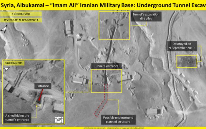 CẬP NHẬT: Phát hiện hầm ngầm chứa tên lửa khổng lồ của Iran tại Syria