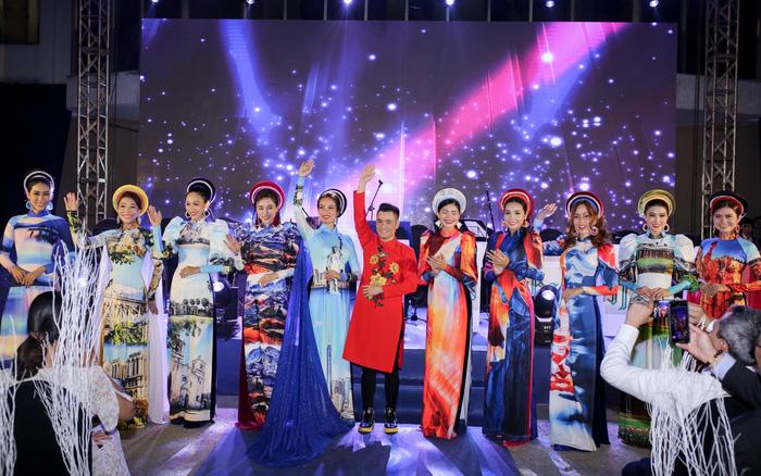 NTK Nhật Dũng gây ấn tượng với bộ sưu tập áo dài độc đáo