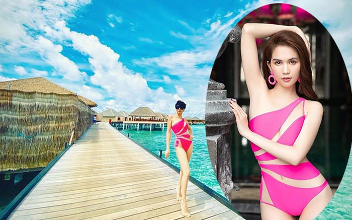 Ngọc Trinh tặng bikini cũ cho Trang Trần