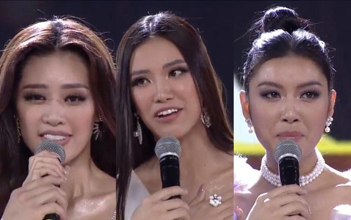 Tân Hoa hậu Hoàn vũ Việt Nam trả lời ứng xử ngắn và ấp úng nhất nhưng vẫn giành chiến thắng - xổ số ngày 16102019