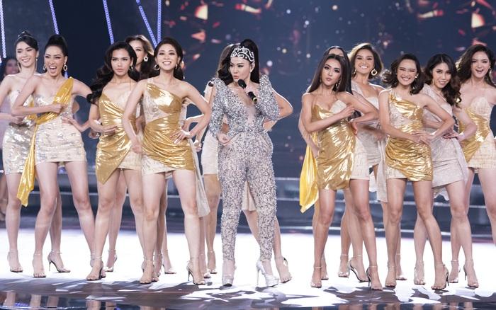 Thu Minh phấn khích khi đoán đúng Hoa hậu Hoàn vũ Việt Nam