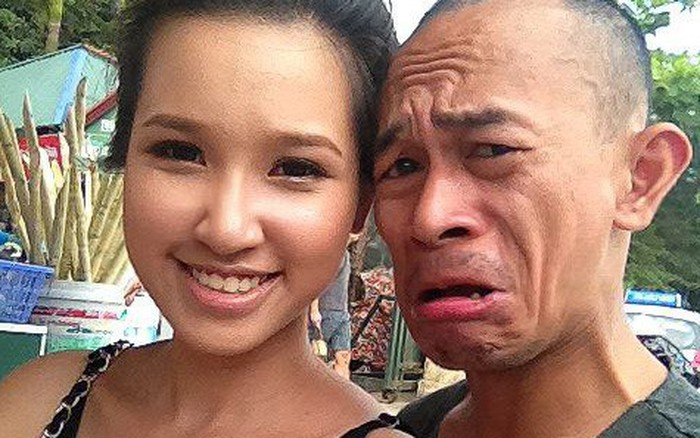 Vợ hot girl tiết lộ thói xấu của diễn viên lùn nhất showbiz Việt