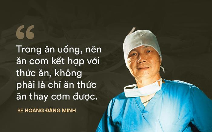 """Bác sĩ 30 năm chuyên """"cắt"""" ung thư ruột: Ăn sai cách tạo điều kiện cho ung thư sinh sôi"""
