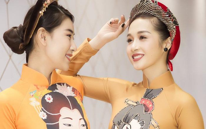 """20 người đẹp trình diễn bộ sưu tập áo dài """"Cảm hứng Nhật Bản"""" của NTK Nhật Dũng"""