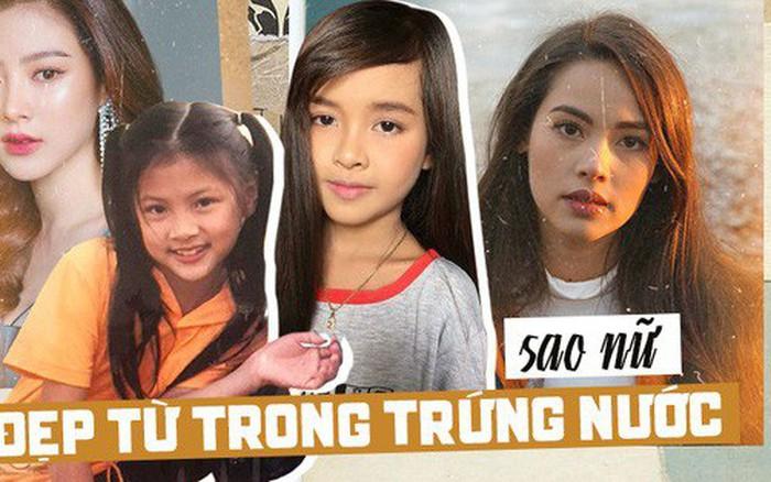 """Top sao nữ đẹp từ trong trứng nước của showbiz Thái: Dàn mỹ nhân lai xuất sắc, Nira """"Chiếc lá bay"""" chưa..."""