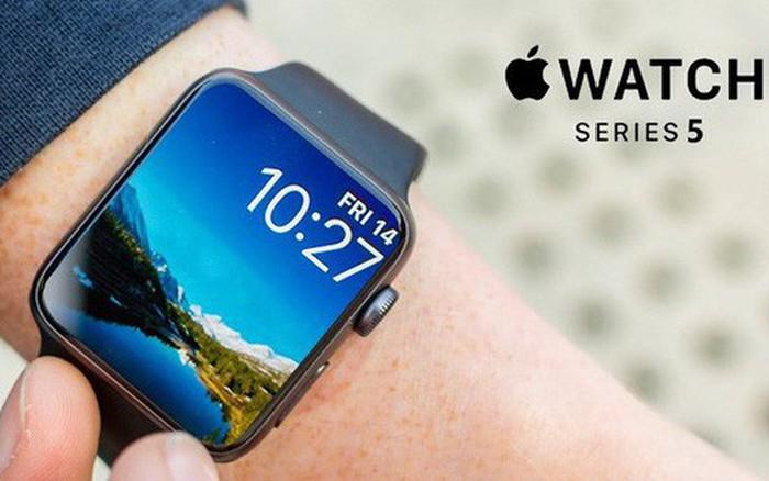 Bắt được hình ảnh rò rỉ đầu tiên về Apple Watch Series 5, màn hình cong tràn hơn đáng kể