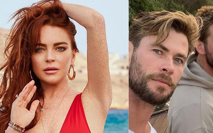 'Mê trai' tới mức chủ động nhắn tin mời anh em nhà Hemsworth đi chơi, 'cô nàng lắm chiêu' Lindsay Lohan...