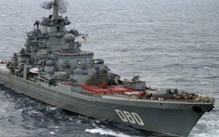 Uy lực đáng sợ tuần dương nguyên tử hạng nặng lớn nhất thế giới của Hải quân Nga