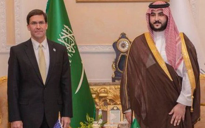 Mỹ sẽ gửi thêm quân tới Saudi Arabia