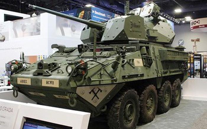 Giới thiệu biến thể Stryker trang bị tháp pháo mới