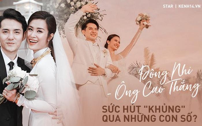 Siêu đám cưới biến Đông Nhi - Ông Cao Thắng thành vợ chồng hot nhất Vbiz: Nhìn con số mới thấy độ ảnh...