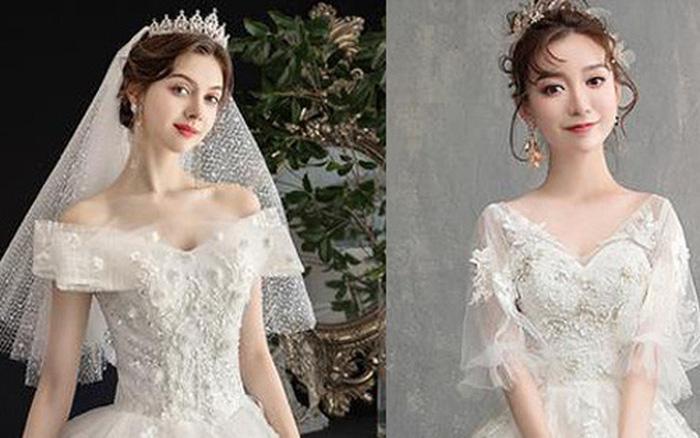 Chọn váy cưới đẹp nhất, bạn sẽ biết được sau hôn nhân mình hạnh phúc về tinh thần hay viên mãn luôn cả vật...