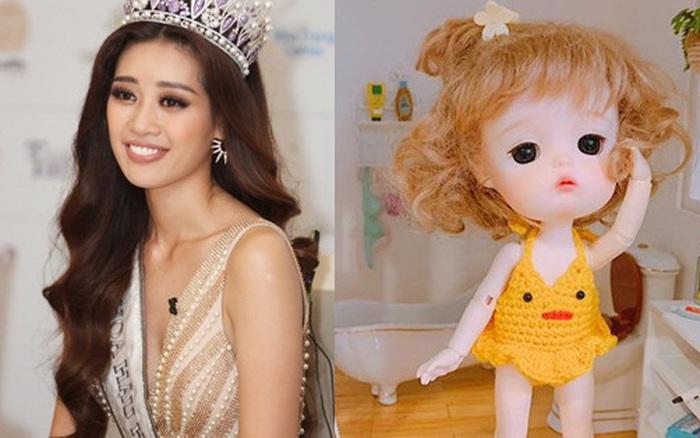Hoa hậu Hoàn vũ Khánh Vân hóa ra còn có sở thích chơi nhà búp bê mini siêu lạ lùng này!?