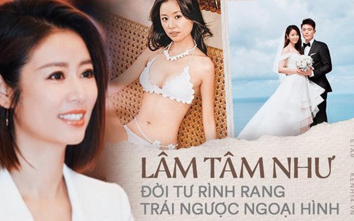 Lâm Tâm Như: Nổi loạn ngỗ ngược từ thuở 17, tính cách trái ngược với hình ảnh ngọt ngào và cuộc hôn nhân...