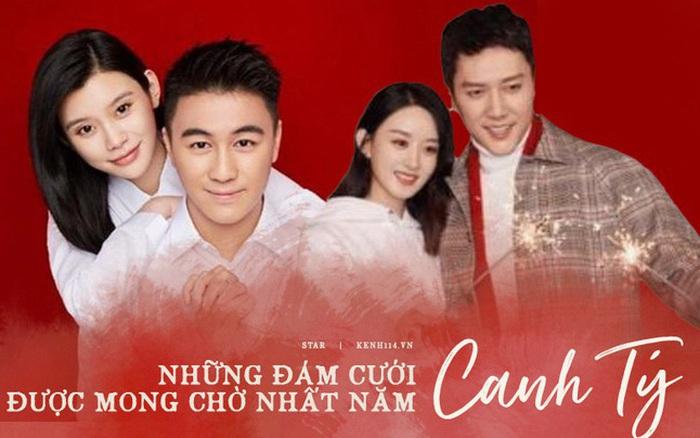 Những hôn lễ được kỳ vọng nhất Canh Tý: Triệu Lệ Dĩnh sẽ làm siêu đám cưới, Ming Xi - Hà Du Quân sẽ chẳng...
