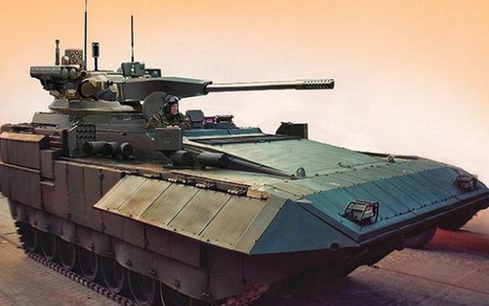 Uy lực khủng khiếp từ xe chiến đấu bộ binh T-15 Armata của Nga