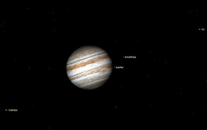 Cơ hội chiêm ngưỡng bộ 3 Hỏa tinh, Mộc tinh và Thổ Tinh trong tháng 3