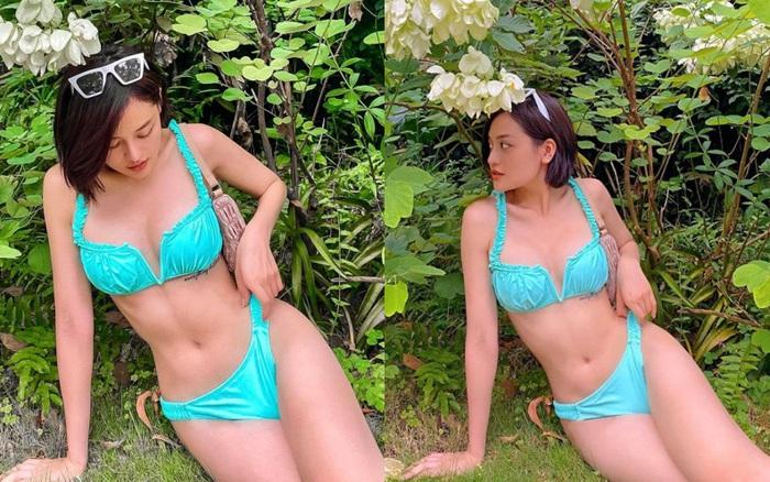 Nữ diễn viên đóng cảnh nóng năm 18 tuổi khoe vóc dáng gợi cảm với bikini