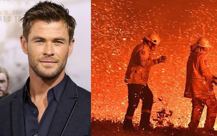 Siêu anh hùng đời thực: 'Thor' Chris Hemsworth quyên góp 23 tỷ đồng ủng hộ lính cứu hoả và người dân trong...