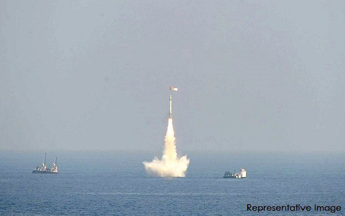 Ấn Độ phóng tên lửa đạn đạo K-4 cực mạnh từ tàu ngầm - xổ số ngày 13102019