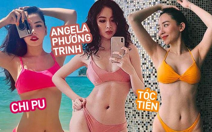 Những vòng eo đẹp siêu thực của mỹ nhân Việt: Chi Pu, Tóc Tiên nhỏ đến khó tin, Angela Phương Trinh cực...