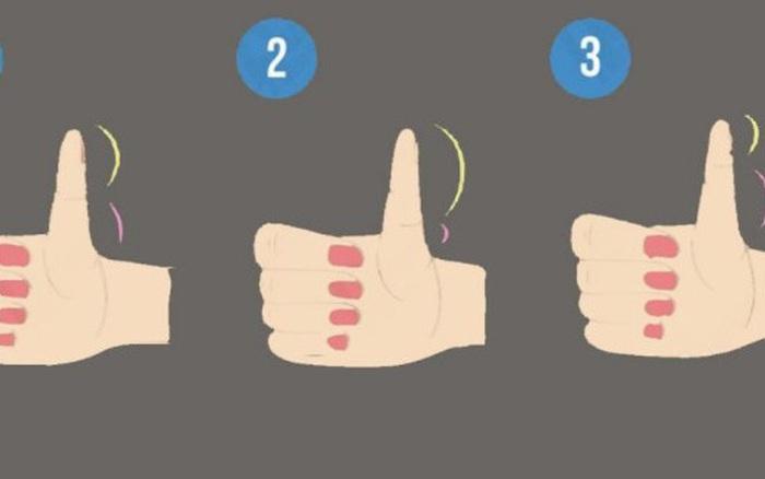 Độ dài 2 đốt tay trên ngón cái tiết lộ bạn là người sống lý trí hay dễ bị lợi dụng và tính cách của bạn...
