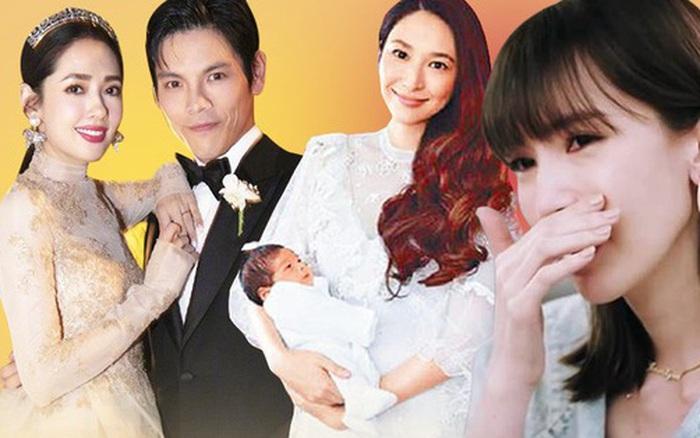 """Chuyện mẹ chồng - nàng dâu giới siêu giàu Cbiz: Ming Xi bị coi như """"máy đẻ"""", Vương Diễm chẳng khác nào..."""