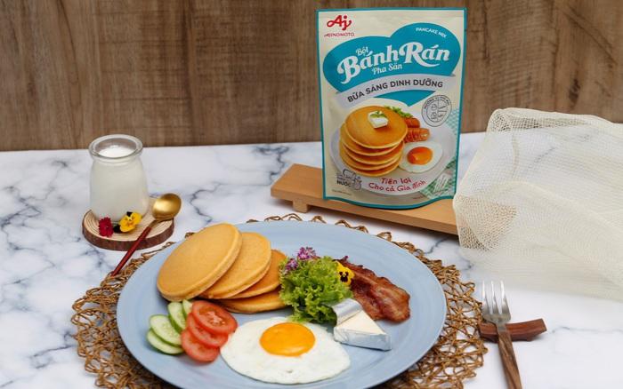 Gợi ý bữa sáng từ bánh rán đầy đủ dinh dưỡng cho con